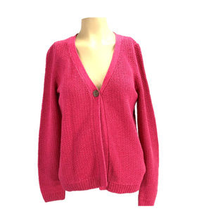 Christopher Banks Pink Cardigan Sweater NEW S